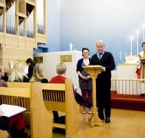 Hátíðarmessa í kapellu Háskóla Íslands