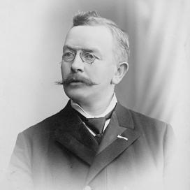 Lárus H. Bjarnason, prófessor í lagadeild. Háskólarektor 1913-1914.